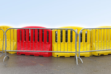 Plastic barrier