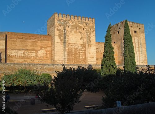 canvas print picture Alhambra
