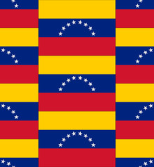 Venezuela flag texture vector