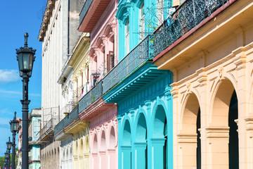Colorful buildings in Old Havana