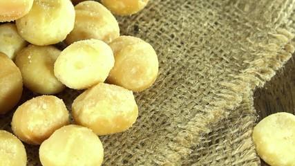 Rotating Macadamia Nuts (not loopable)