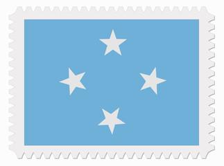 F.S. Micronesia flag stamp