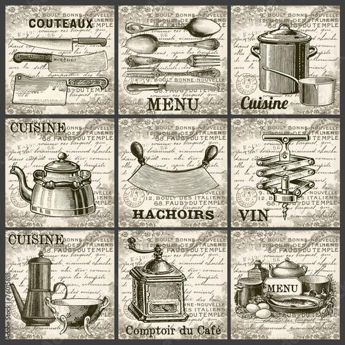 Collection cuisine vintage © lynea