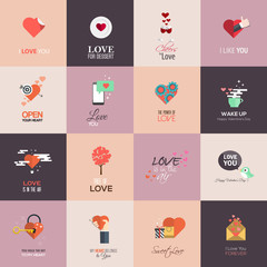 Happy valentines day cards