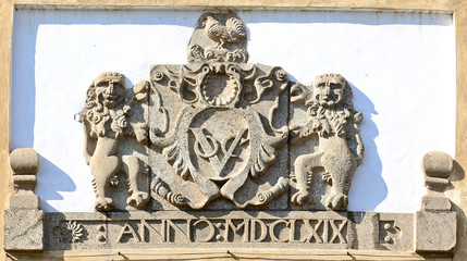 The logo of ancient Dutch east India Company