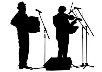 Accordion and violin