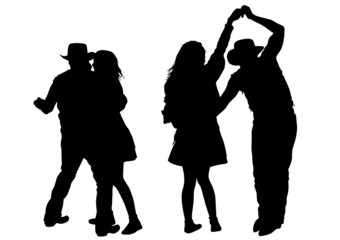 Dance couples people