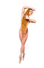 dancing naked woman