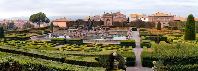 Gardens Of Villa Lante Bagnaia Italy