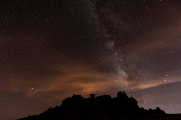 Sternenhimmel über Teneriffa, Teide Nationalpark