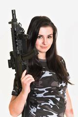 beautiful army girls
