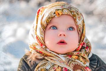 Зимний ребенок