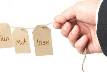 Idee Mut Tun - Konzept
