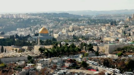 Dome of the Rock as viewed from the Mount of Olives