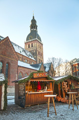 Christmas Market in Riga, Dome Square