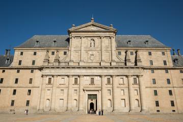 Fachada oeste del Monasterio de El Escorial