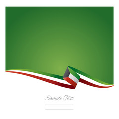 Abstract color background Kuwait flag