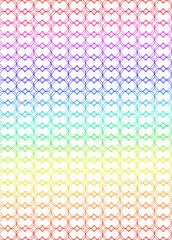 red modular arcoiris