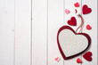 Symbols on Valentine's Day with place for text - 76023861