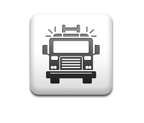 Boton cuadrado blanco 3D camion de bomberos
