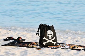 Beach Skeleton