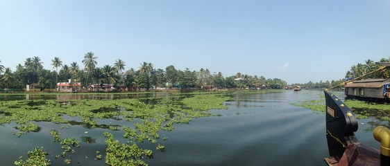 Backwaters of Kerala, India