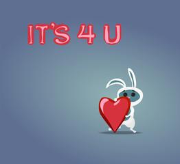 it is 4 u