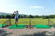 Driving Range Golf Swing