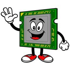 Computer Processor Waving