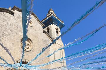 Church at Valdemossa in Palma de Mallorca, Spain