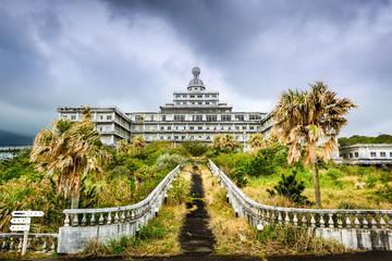 Abandoned Hotel in Hachijojima, Japan