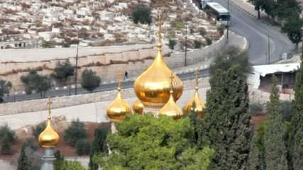 Church of Mary Magdalene. Jerusalem