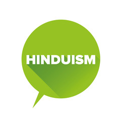 Hinduism sign vector