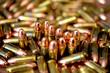 Leinwanddruck Bild - 9mm ammo