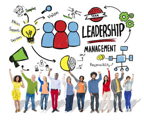 Diversity Casual People Leadership Management Concept