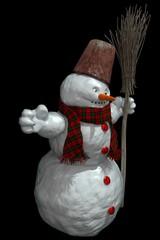 Happy Snowman side1