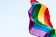 canvas print picture - LGBT Flag