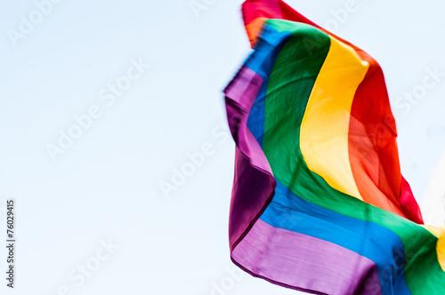 canvas print picture LGBT Flag