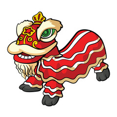 Tradition Chinese Lion