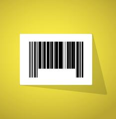 barcode ups code illustration design