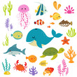 Cute underwater world - 76031299