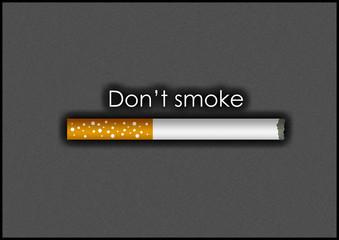 Dont smoke / Nicht rauchen