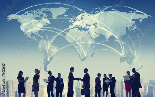Business People Collaboration Team Teamwork Professional Concept - 76032667