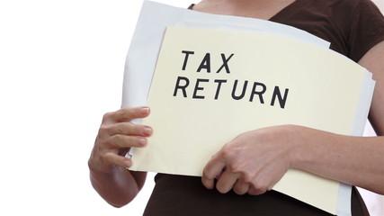 Tax Return Messy Folder