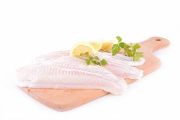 raw fish fillet