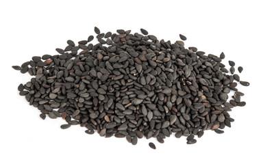 Black Sesame or botanical name Sesamum Indicum Seeds.