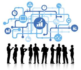 Concept Business Growth Success Achievement Concept