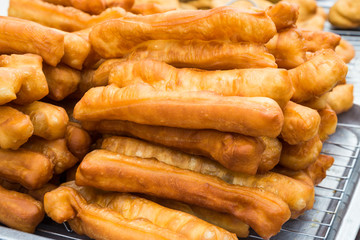 Fried bread stick or popularly known as You Tiao