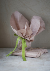 Gifts in rustic style
