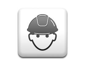 Boton cuadrado blanco obrero 3D